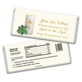 Luz del Mundo Personalized Candy Bar - Wrapper Only