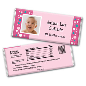 Puntos Coloridos Personalized Candy Bar - Wrapper Only