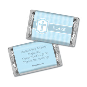 Classic Baptism Personalized Miniature Wrappers