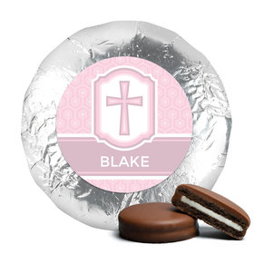 Communion Baptism Favors Belgian Chocolate Covered Oreo Cookies Assembled (24 Pack)