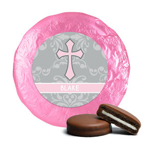 Remember Baptism Favors Milk Chocolate Covered Oreo Cookies Assembled (24 Pack)