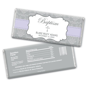 Remembrance Baptism Personalized Candy Bar - Wrapper Only