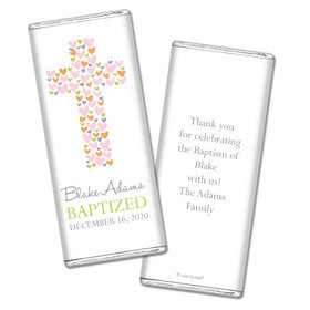 Sweet Sacrament Baptism Personalized Candy Bar - Wrapper Only