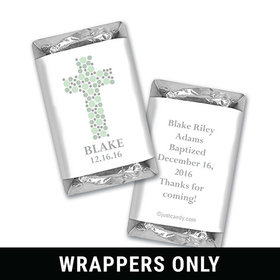 Stepping Stones Baptism Personalized Miniature Wrappers