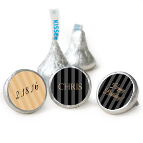 Formal 50th Birthday HERSHEY'S KISSES Candy Assembled