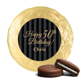 Formal Birthday Belgian Chocolate Covered Oreo Cookies Assembled (24 Pack)