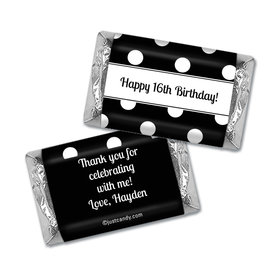 Dot Filled Day Personalized Miniature Wrappers