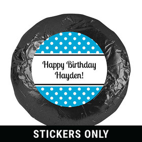 """Dot Filled Day 1.25"""" Sticker (48 Stickers)"""
