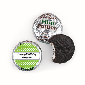 Birthday Personalized Pearson's Mint Patties Polka Dot