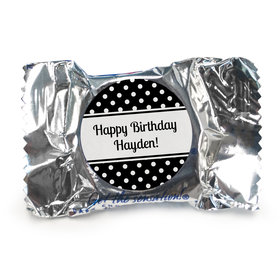 Birthday Personalized York Peppermint Patties Polka Dot