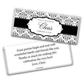 Lavish Luxury Personalized Candy Bar - Wrapper Only