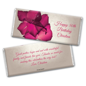 It's a Girl Thing Personalized Candy Bar - Wrapper Only
