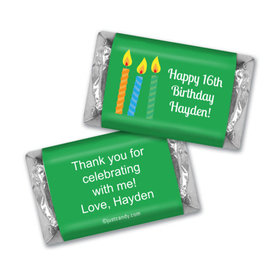 Blow 'Em Out Personalized Miniature Wrappers
