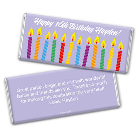 Blow 'em Out Personalized Candy Bar - Wrapper Only