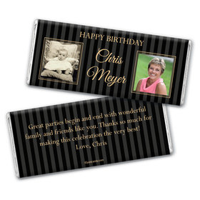 Classic Style Personalized Candy Bar - Wrapper Only