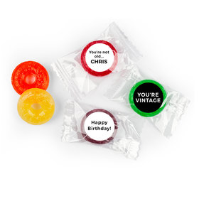 Birthday Personalized Life Savers 5 Flavor Hard Candy You're Vintage (300 Pack)