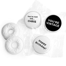 Birthday Personalized Life Savers Mints You're Vintage