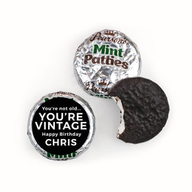 Birthday Personalized Pearson's Mint Patties You're Vintage
