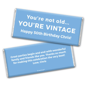 You're Vintage Personalized Candy Bar - Wrapper Only