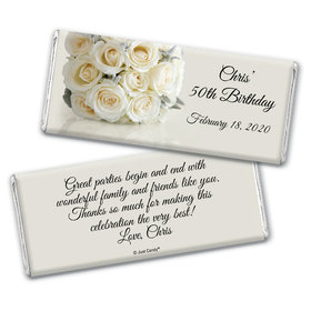Classic Celebration Personalized Candy Bar - Wrapper Only