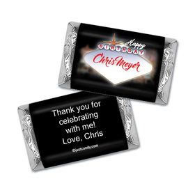 Birthday Marquee Personalized Miniature Wrappers