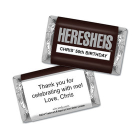 Classic HERESHEIS Birthday MINIATURES Candy Personalized Assembled