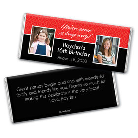 Long Way Personalized Candy Bar - Wrapper Only