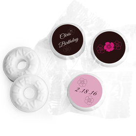 Birthday Personalized Life Savers Mints Flower Trio (300 Pack)