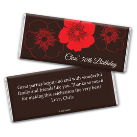 Down to Earth Personalized Candy Bar - Wrapper Only