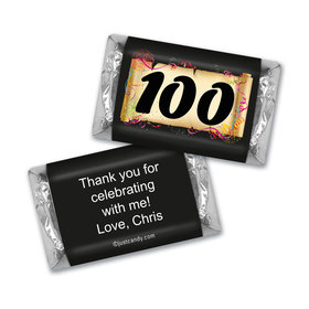 Commemorate 100th Birthday MINIATURES Candy Personalized Assembled