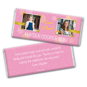 Remember When Personalized Candy Bar - Wrapper Only