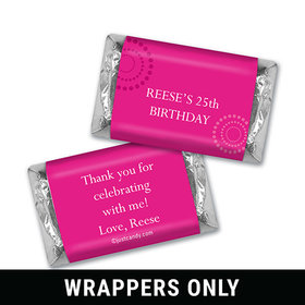 Whirling By Personalized Miniature Wrappers