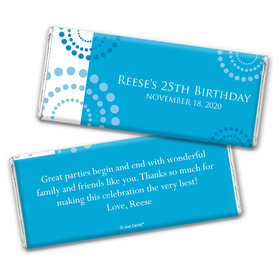 Whirling By Personalized Candy Bar - Wrapper Only