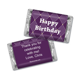 Royal Birthday Personalized Miniature Wrappers