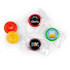 Surprise Personalized Birthday LIFE SAVERS 5 Flavor Hard Candy Assembled