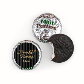 Personalized 60th Birthday Pearson's Mint Patties
