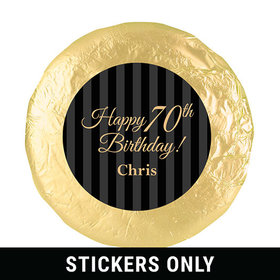 "Personalized 70th Birthday 1.25"" Stickers (48 Stickers)"