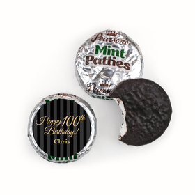 Personalized 100th Birthday Pearson's Mint Patties