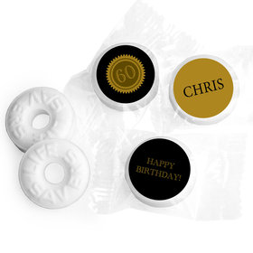 Personalized Milestones 60th Birthday Mints