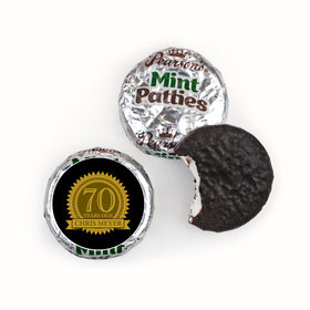 Personalized 70th Birthday Pearson's Mint Patties