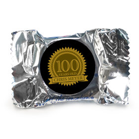 Personalized 100th Birthday Peppermint Patties