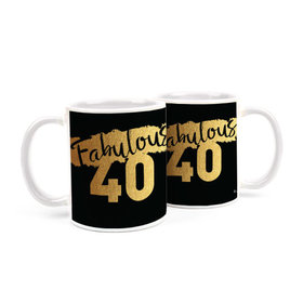 Birthday Fabulous 40 11oz Mug