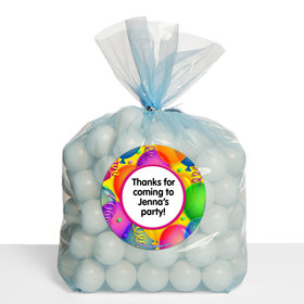 Balloon Bash Personalized Cello Bags (Set of 30)