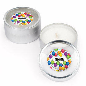 Birthday Glitz Personalized Candle (Set of 12)