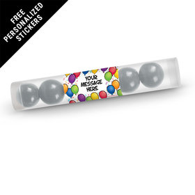 Personalized Candy Tubes 12 Pack