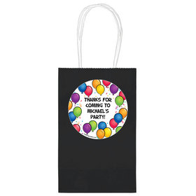 """Birthday Glitz Personalized 5"""" Handle Bags (24 pack)"""
