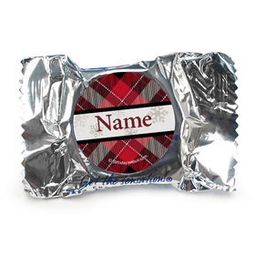 Buffalo Plaid Personalized York Peppermint Patties (84 Pack)
