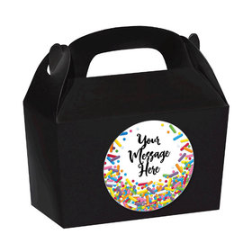 Sprinkles Personalized Favor Boxes (Set of 24)