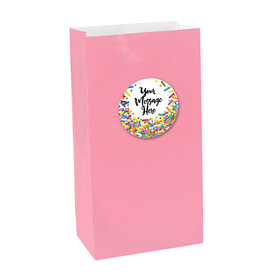 Sprinkles Personalized Paper Favor Bags (set of 12)