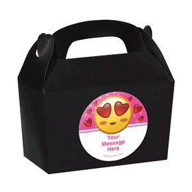 Emojis Pink Personalized Favor Boxes (Set of 24)